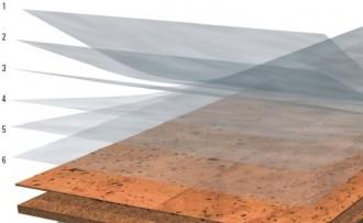 popis vrstev laku pro korkove plovouci podlahy